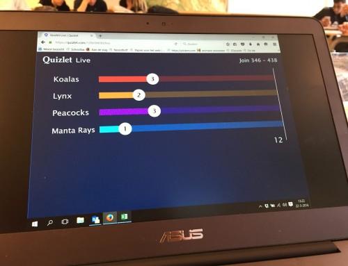 Klassikaal woordjes of begrippen leren met Quizlet Live