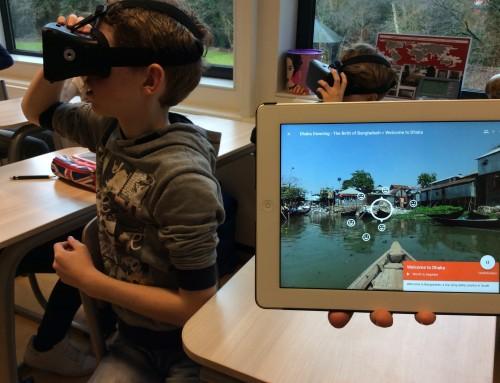 Virtual Reality onderwijs pilot. Werken met Google Expeditions VR
